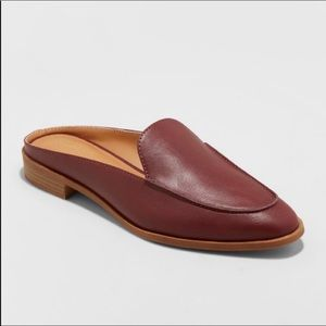 2/$20 Universal Thread Amber Backless Mule